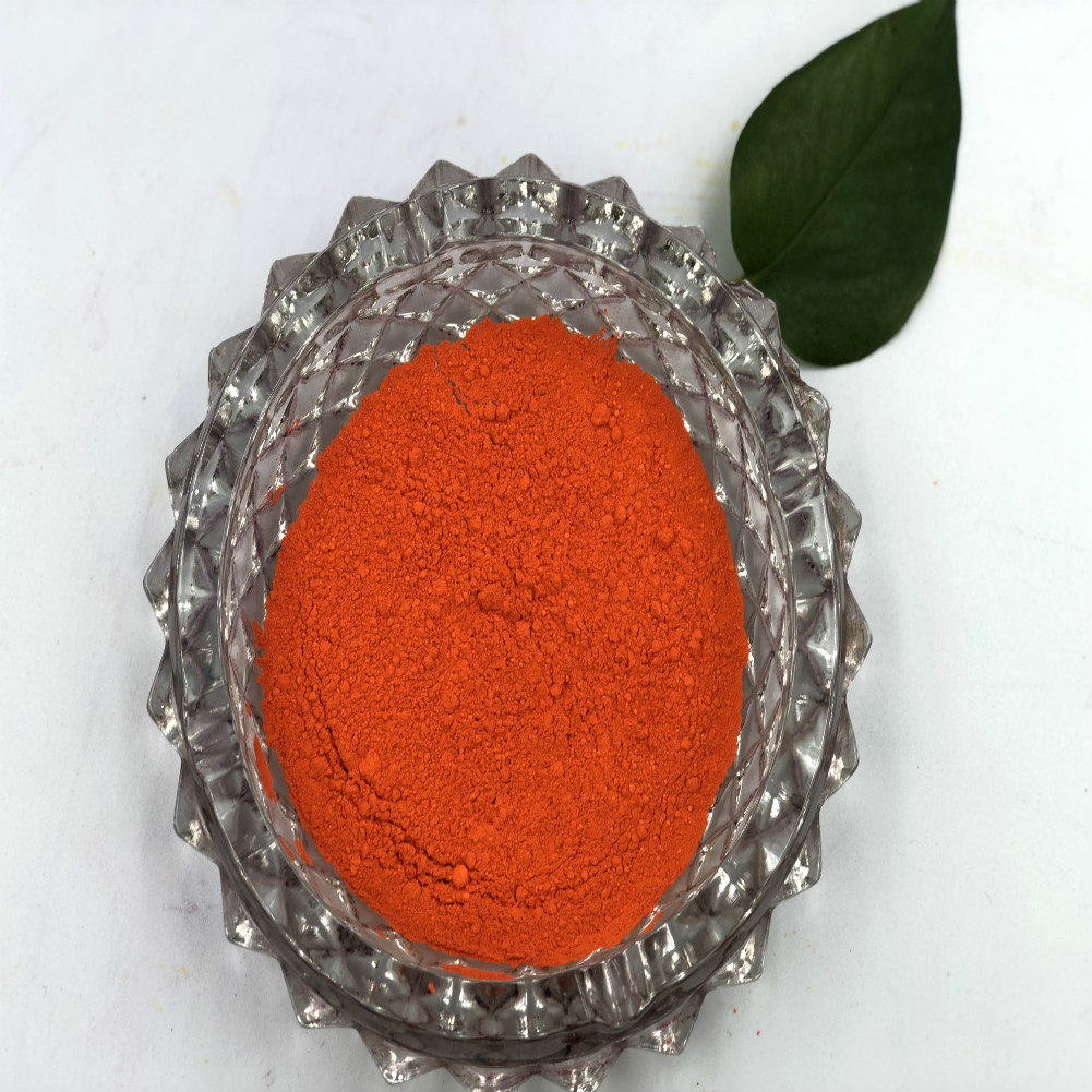 Pigment Orange 64 CAS 72102-84-2 High Color Strength Organic Cromophtal Orange GL For Paint PVC