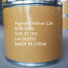 Pigment yellow 128 CAS:79953-85-8 excellent solvent resistance good light fastness good weather fastness excellent transparency C55H37Cl5F6N8O8