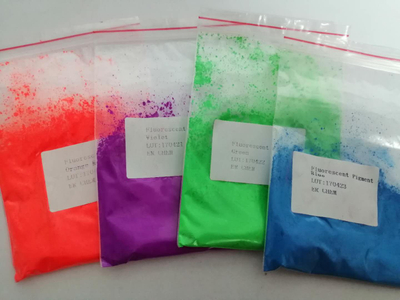 Fluorescent Pigment Liquid Type Formaldehyde Free For Textile Printing Inks